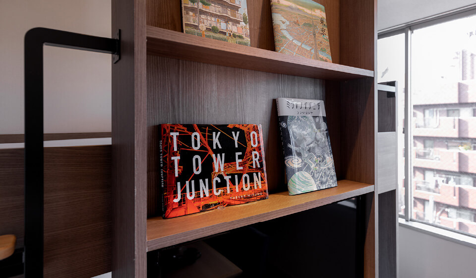 Guest Room Library